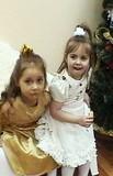 Две сестренки - Тамара и Леночка