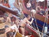 Сражались с вражеским пиратским судном