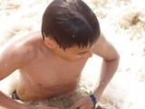 Самый старший молодой человек в нашем лагере - красавец мужчина Ваня :)