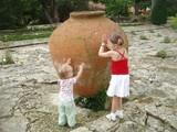 Стася и Арина в Ботаническом саду