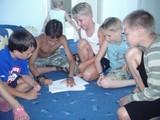 Игротренинги у старшей группы Кирилл, Ваня, Игорь и два Дани
