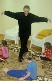 Занятия оздоровительным ушу в Детском клубе Ирвин